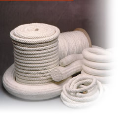 High temperature rope for packing and sealing applications